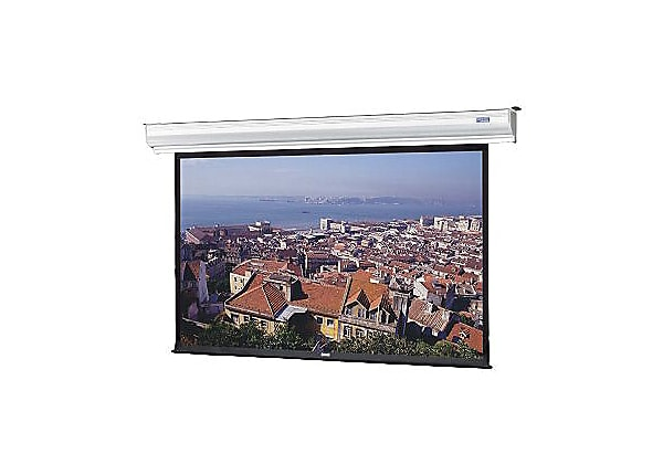 Da-Lite Contour Electrol HDTV Format - projection screen - 184 in (183.9 in