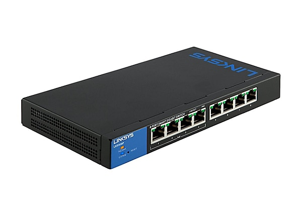 Linksys Business Smart LGS308P - switch - 8 ports - managed