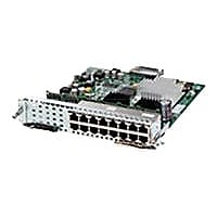 Cisco SM-X Layer 2/3 EtherSwitch Service Module - switch - 16 ports - manag