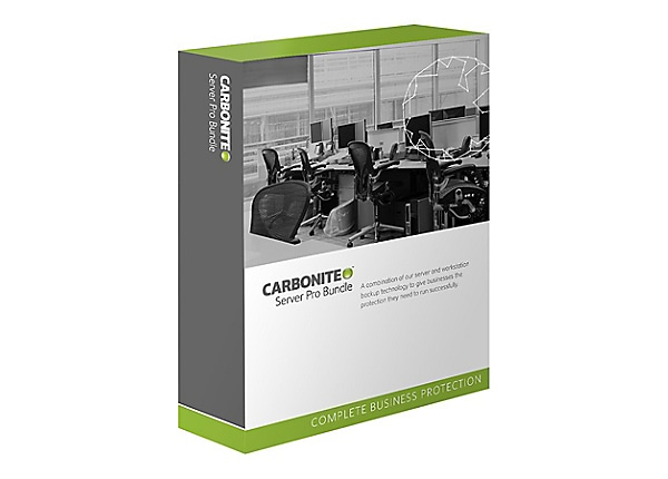 Carbonite Server Pro Bundle for Business - subscription license (1 year) -