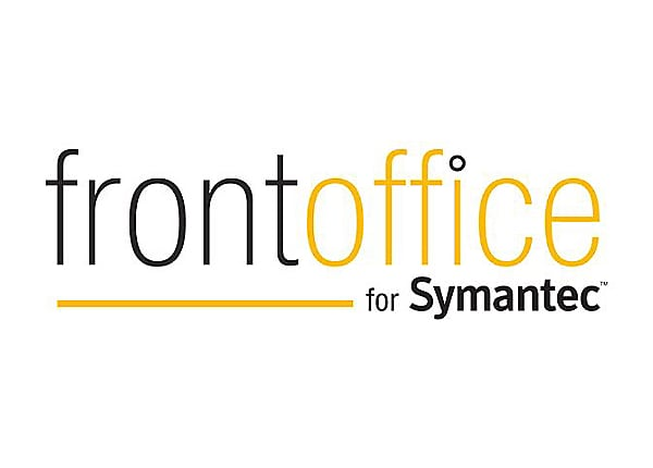 Symantec Standard Support - technical support - for Biomni Front Office Com