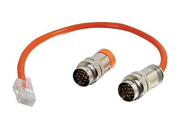 C2G RapidRun Multi-Format Runner Cable (Orange) Test Adapter Cable - networ