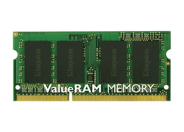 Kingston ValueRAM - DDR3 - module - 2 GB - SO-DIMM 204-pin - 1333 MHz / PC3