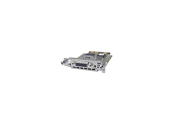 Cisco 1-Port Serial High-Speed WAN Interface Card - expansion module