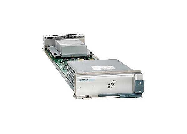 Cisco Nexus 7010 Fabric-2 Module - switch - managed - plug-in module