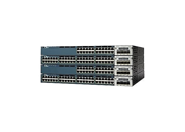 Cisco Catalyst 3560X-48PF-S - switch - 48 ports - managed - rack-mountable