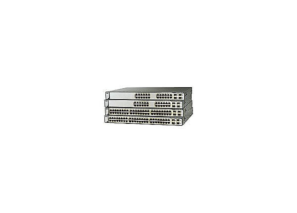 Cisco Catalyst 3750G-48TS - switch - 48 ports - managed - rack-mountable