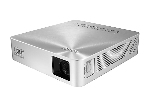 Asus S1 - DLP projector - ultra short-throw - silver