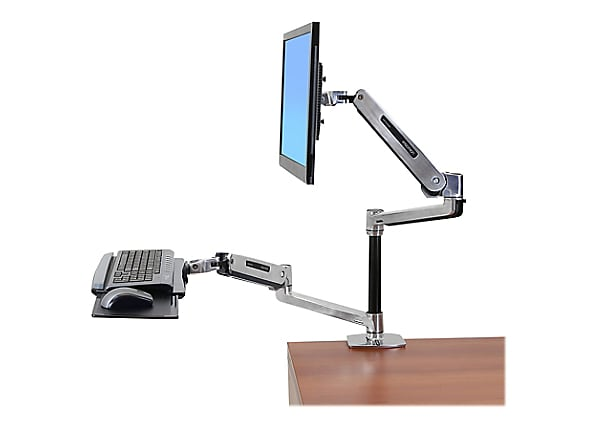 Ergotron WorkFit-LX Sit-Stand Desk Mount System - mounting kit