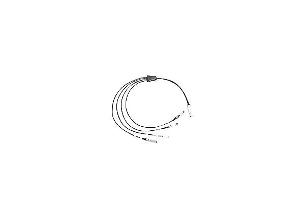Cisco Direct-Attach Breakout Cable - network cable - 5 m - gray