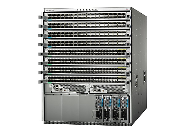 Cisco Nexus 9508 Chassis Bundle - switch - managed - rack-mountable - with