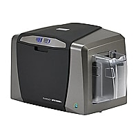 Fargo DTC 1250E - plastic card printer - color - dye sublimation/thermal re
