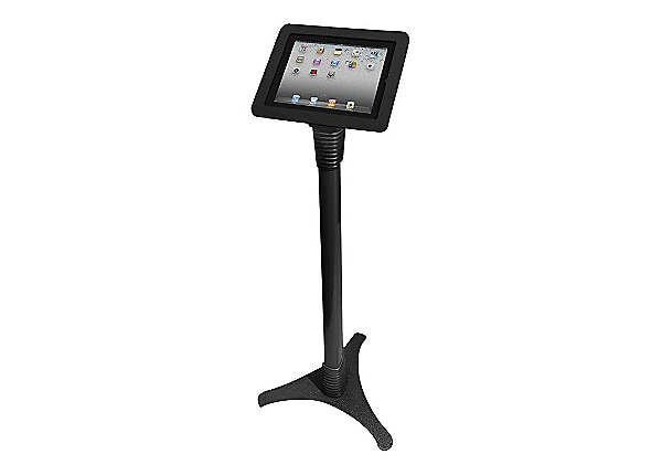 "Compulocks Executive Adjustable iPad 9.7"" Floor Stand Black - stand"