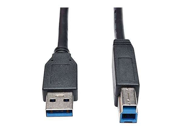 Tripp Lite 3ft USB 3.0 SuperSpeed Cable USB Type-A to USB Type-B M/M Black