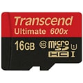 Transcend Ultimate - flash memory card - 16 GB - microSDHC UHS-I