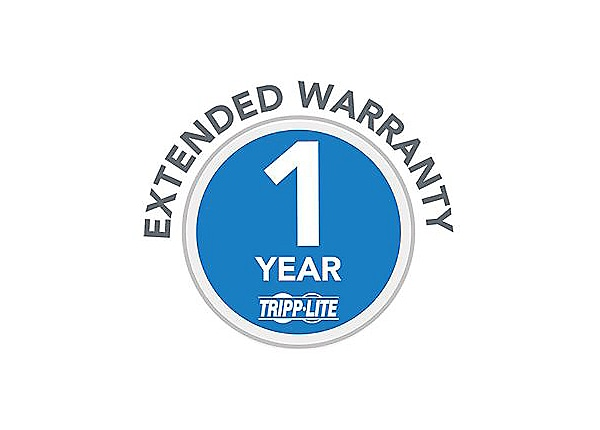 Tripp Lite 1-Year Extended Warranty for select Products - extended service