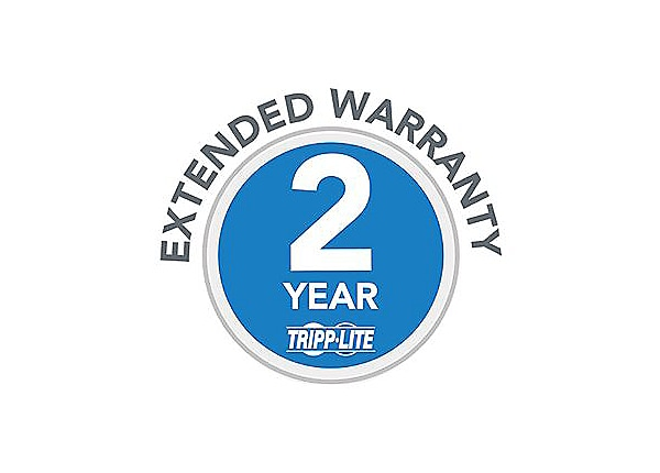 Tripp Lite 2-Year Extended Warranty for select Products - extended service