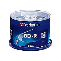 Verbatim - BD-R x 50 - 25 GB - storage media