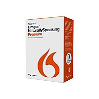 Nuance Dragon NaturallySpeaking Premium Box Pack Version (13) 1 User