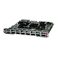 Cisco 16-Port 10 Gigabit Ethernet Module with DFC3CXL - expansion module -