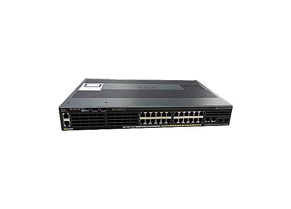 Cisco Catalyst 2960X-24PSQ-L - switch - 24 ports - managed - rack-mountable