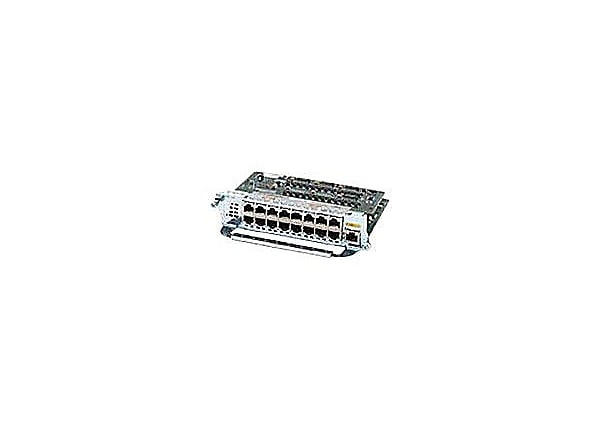 Cisco EtherSwitch Service Module - switch - 16 ports - managed - plug-in mo
