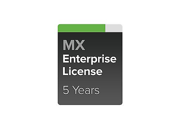 Cisco Meraki MX60W Enterprise - subscription license (5 years) - 1 license