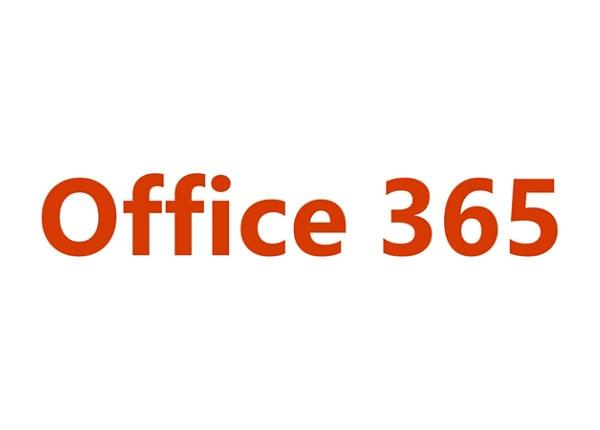Microsoft Office 365 Enterprise E1 - subscription license (1 month) - 1 use