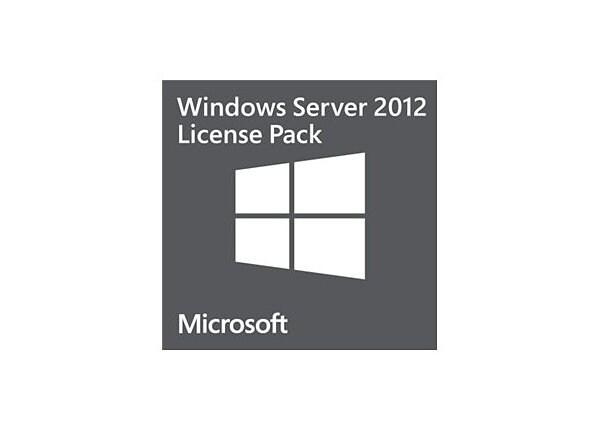 Microsoft Windows Server 2012 Remote Desktop Services - license