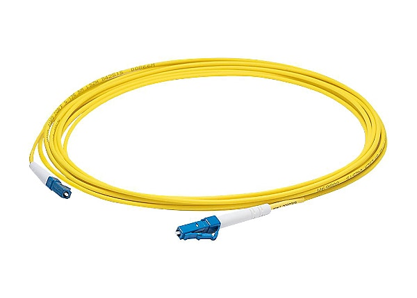 AddOn 2m LC OS1 Yellow Patch Cable - patch cable - 2 m - yellow
