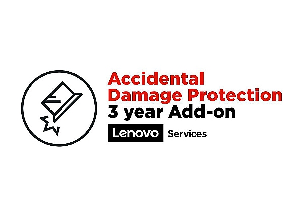 Lenovo Accidental Damage Protection - accidental damage coverage - 3 years