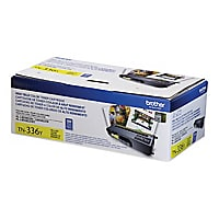 Brother TN336Y - High Yield - yellow - original - toner cartridge