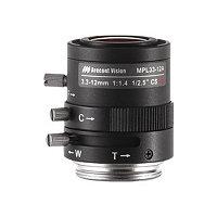 Arecont MPL33-12A - CCTV lens - 3.3 mm - 12 mm