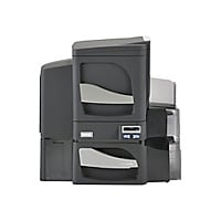 Fargo DTC 4500e - plastic card printer - color - dye sublimation/thermal re