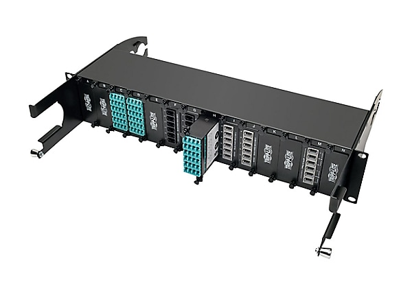 Tripp Lite 12-Fiber Patch Panel 2 MTP/MPO to 12 LC 10Gb Breakout Cassette