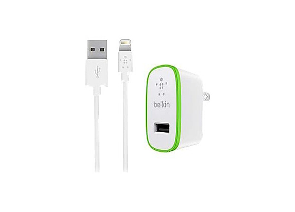 Belkin BOOST UP Home Charger+Cable - power adapter