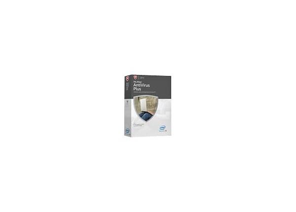 McAfee AntiVirus Plus 2015 - box pack (1 year) - 1 PC