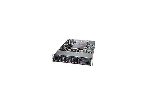 Supermicro SuperServer 2028R-C1RT - rack-mountable - no CPU - 0 MB - 0 GB