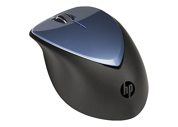 HP x4000 - mouse - 2.4 GHz - winter blue