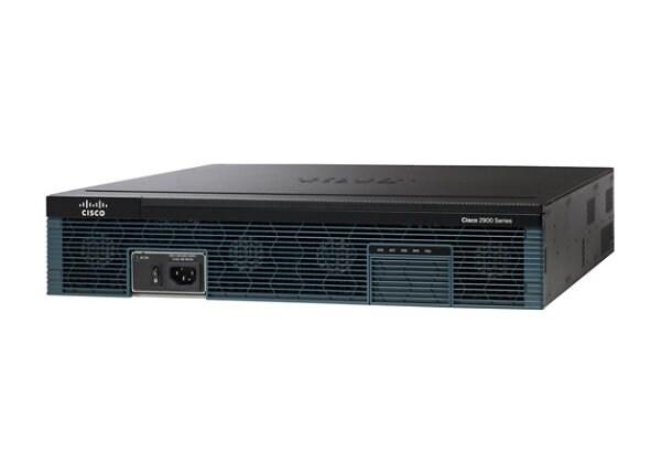 Cisco 2921 - router - rack-mountable