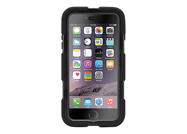 Griffin Survivor All-Terrain back cover for cell phone