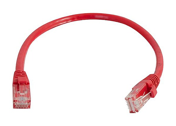 C2G Cat5e Snagless Unshielded (UTP) Network Patch Cable - patch cable - 15.