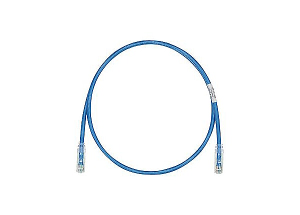 Panduit TX6-28 Category 6 Performance - patch cable - 6 ft - blue