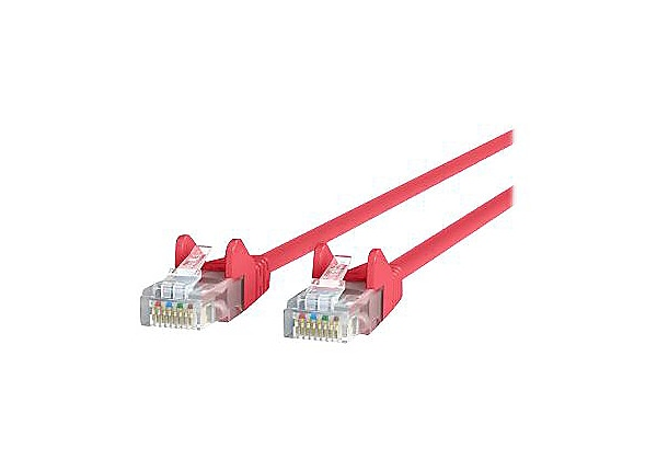 Belkin CAT5e/CAT5, 6ft, Red, Snagless, UTP, RJ45 Patch Cable