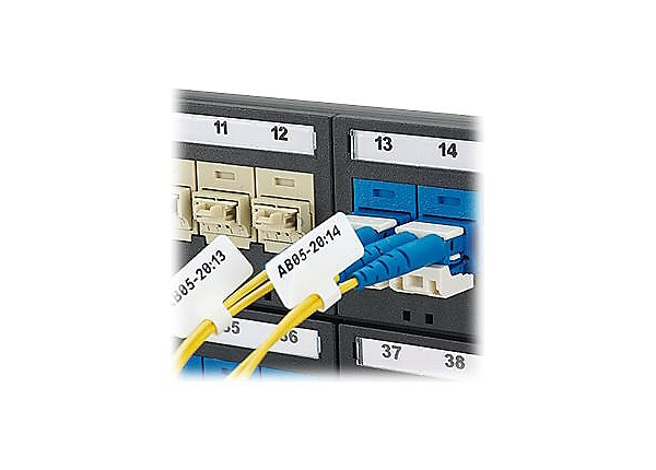 Panduit Flag Labels - labels - 2500 label(s) - 1 in x 1.5 in