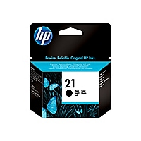HP 21 - black - original - ink cartridge