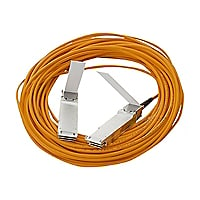 HPE Active Optical Cable - direct attach cable - 49 ft
