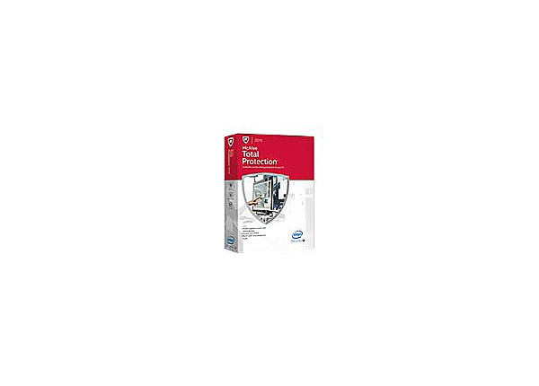 McAfee Total Protection 2015 - box pack (1 year) - 3 PCs