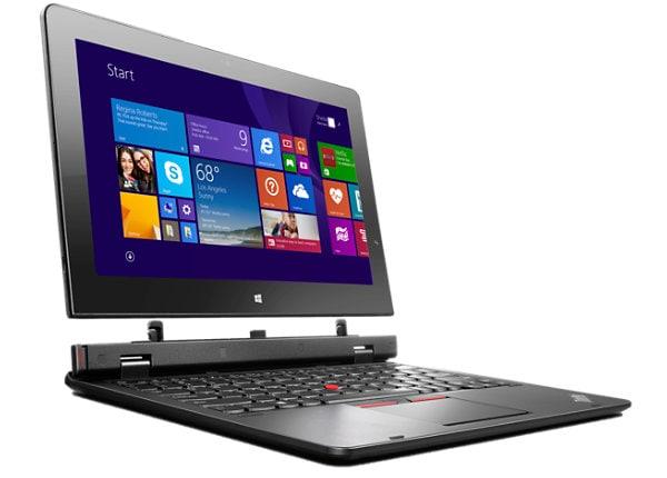 """Lenovo ThinkPad Helix - 11.6"""" - Core M 5Y71 - 8 GB RAM - 180 GB SSD"""