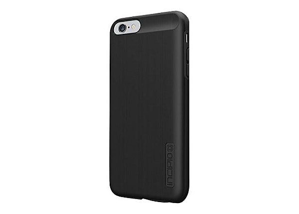 Incipio DualPro SHINE Dual Layer Protection with Brushed Aluminum Finish ba
